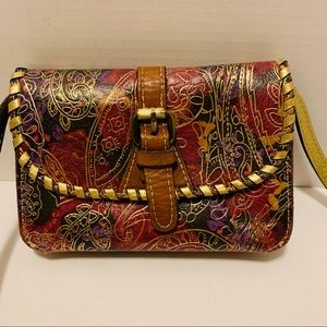Patricia Nash Tooled Compact Crossbody